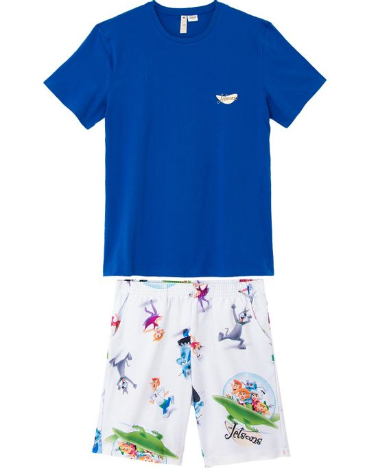Pijama-Masculino-Curto-Acuo-Algodao-Jetsons