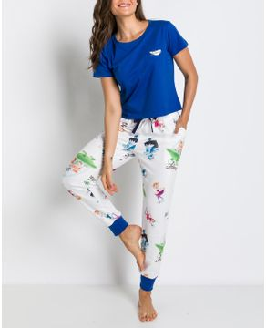 Pijama-Feminino-Acuo-Algodao-Calca-Moletom-Jetsons