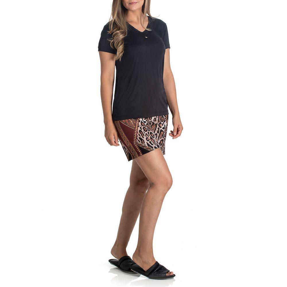 Pijama-Feminino-Toque-Microfibra-Short-Animal-Print