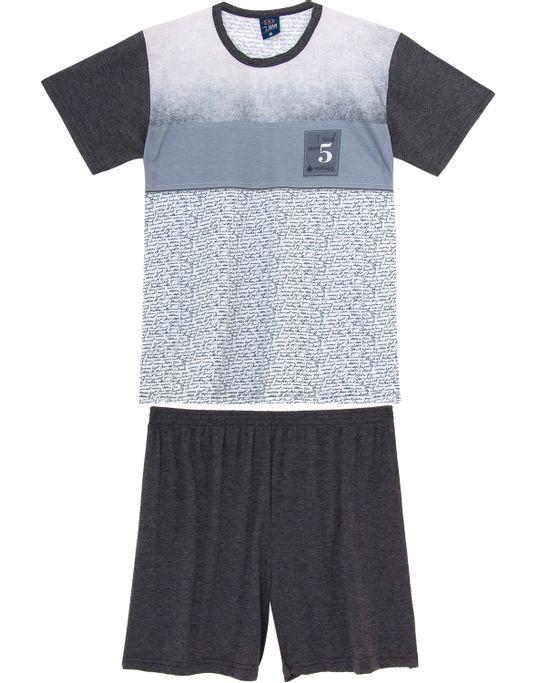 Pijama-Curto-Masculino-Toque-Poliplex-Texto