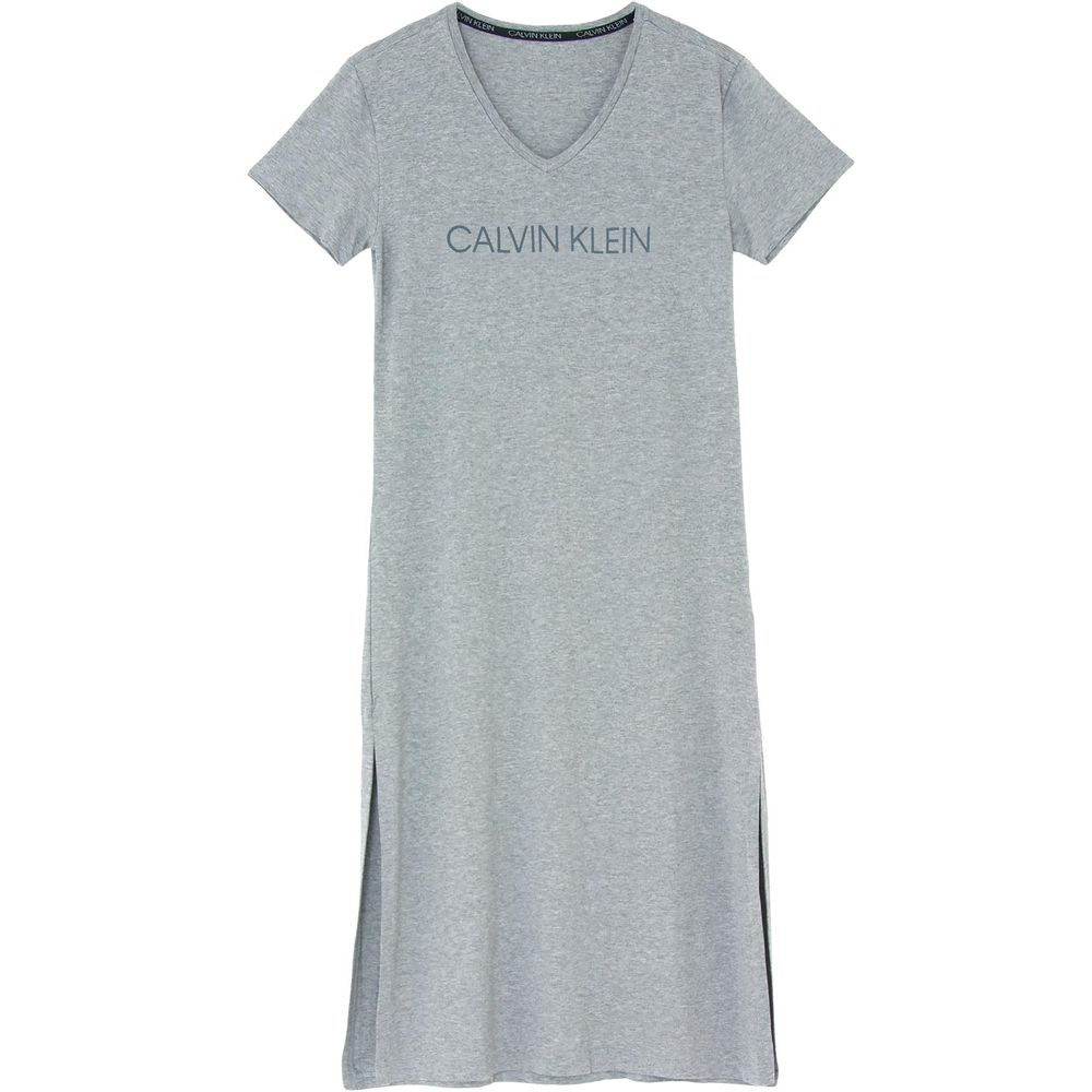 Camisola-Midi-Calvin-Klein-Viscolight-Fenda-Lateral