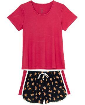 Pijama-Femininoo-Recco-Viscolycra-Biscoito-de-Natal