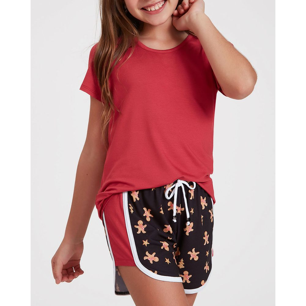 Pijama-Infantil-Feminino-Recco-Viscolycra-Biscoito