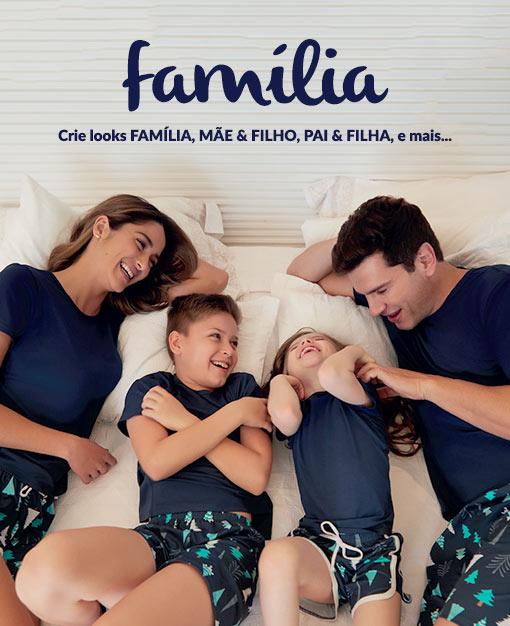 Pijamas Iguais Família