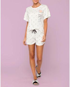 Pijama-Feminino-Curto-Lua-Lua-Cotton-Poa
