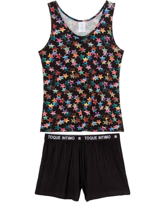 Pijama-Feminino-Regata-Toque-Viscolycra-Estrelas