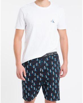 Pijama-Masculino-Calvin-Klein-Algodao-Bermuda-CK-One