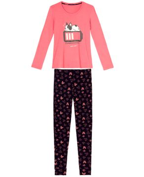 Pijama-Feminino-Any-Any-Visco-Premium-Bulldog