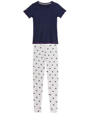 Pijama-Feminino-Any-Any-Manga-Curta-Calca-Gatos