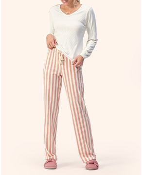 Pijama-Feminino-Lua-Encantada-Viscolinho-Canelado