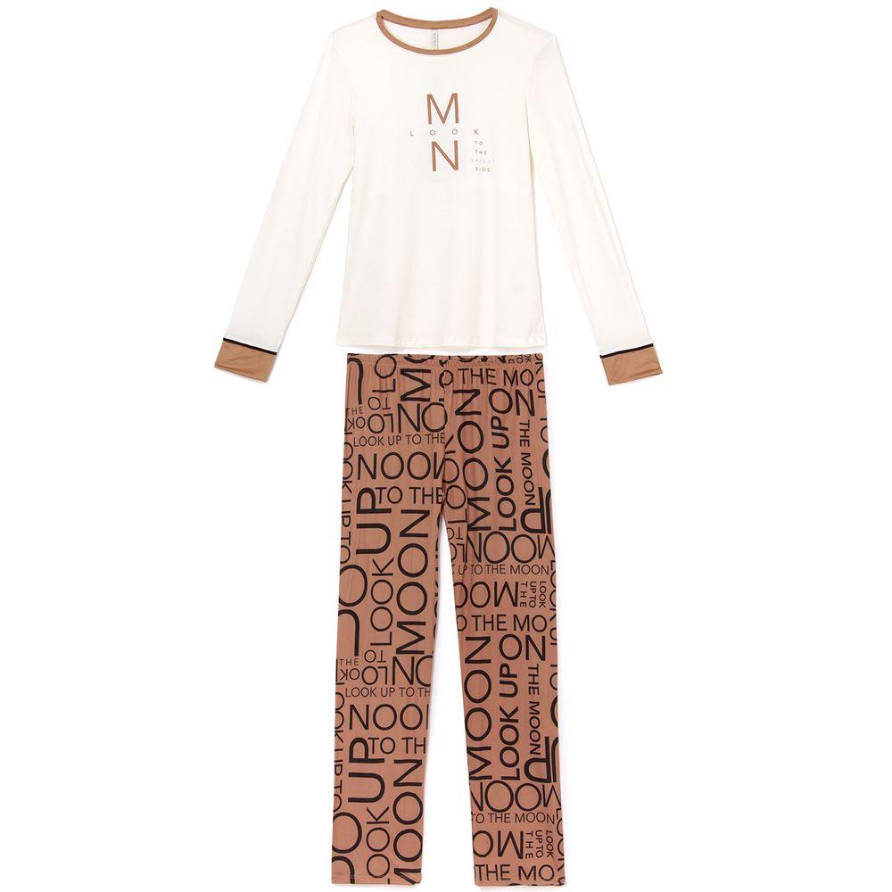 Pijama-Feminino-Lua-Lua-Viscolycra-Calca-Palavras