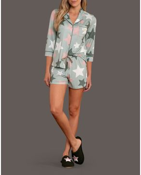 Pijama-Aberto-Feminino-Lua-Lua-Sublime-Touch-Estrelas