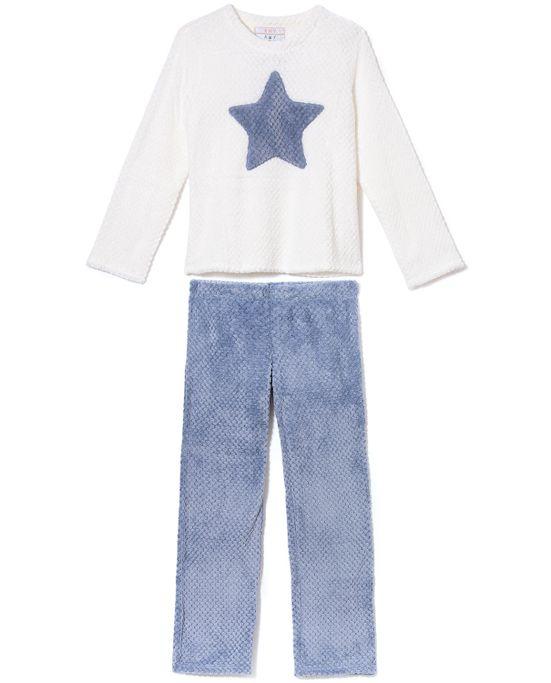 Pijama-Feminino-Any-Any-Soft-Relevo-Estrela