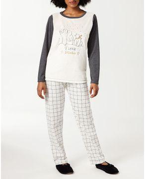 Pijama-Feminino-Lua-Cheia-Peluciado-Calca-Flanelada