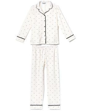 Pijama-Plus-Size-Feminino-Aberto-Flanelado-Lua-Cheia-Poa