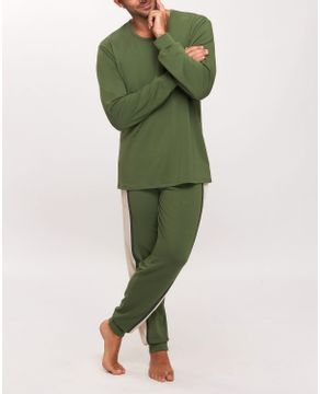 Pijama-Masculino-Recco-Moletinho-Flanelado-Elastano