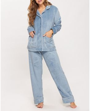 Pijama-Feminino-Recco-Aberto-Fleece-Vies