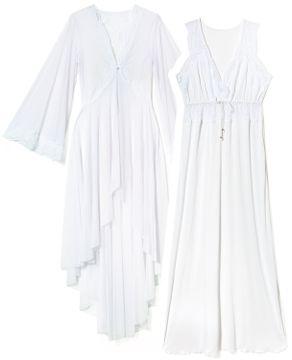 Camisola-Amamentacao-Robe-Recco-Microfibra-Renda