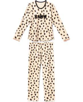 Pijama-Feminino-Recco-Soft-Onca