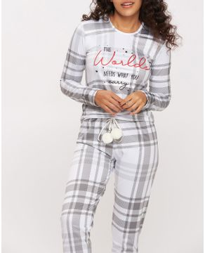 Pijama-Feminino-Recco-Flanelado-Xadrez