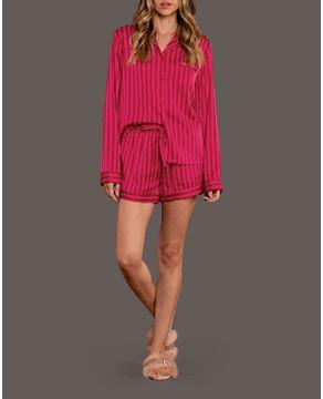 Pijama-Feminino-Aberto-Short-Lua-Lua-Satine-Listras