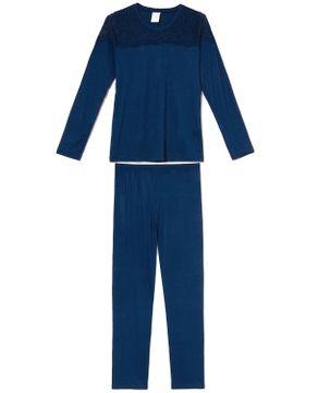 Pijama-Feminino-Longo-Toque-Viscolycra-Renda