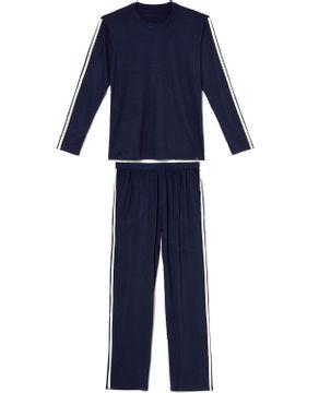 Pijama-Longo-Masculino-Any-Any-Visco-Premium-Faixa