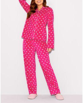 Pijama-Feminino-Aberto-Any-Any-Soft-Coracoes-Vies
