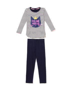 Pijama-Infantil-Feminino-Any-Any-Visco-Premium-Gato