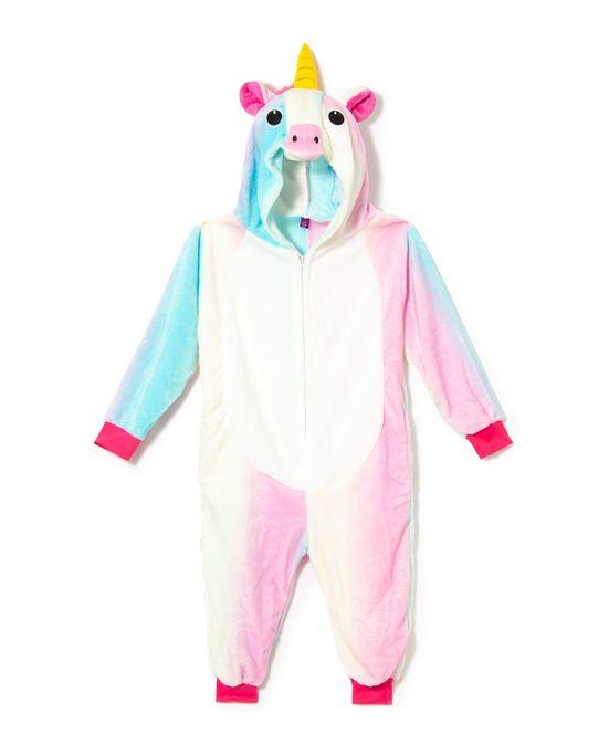 Pijama-Fantasia-Infantil-Unicornio-Kigurumi-Zona-Criativa