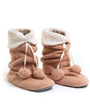Bota-Meia-Recco-Pelo-Comfy-Pompom-Antiderrapante