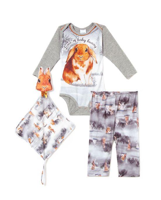 Pijama-Longo-Baby-Unissex-Toque-Poliplex-Coelhos