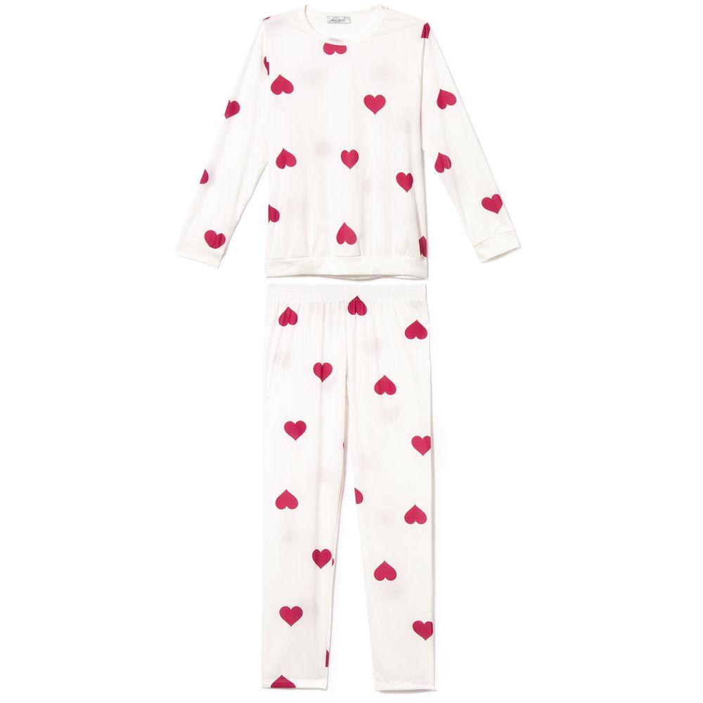 Pijama-Feminino-Longo-Lua-Cheia-Malha-Coracoes
