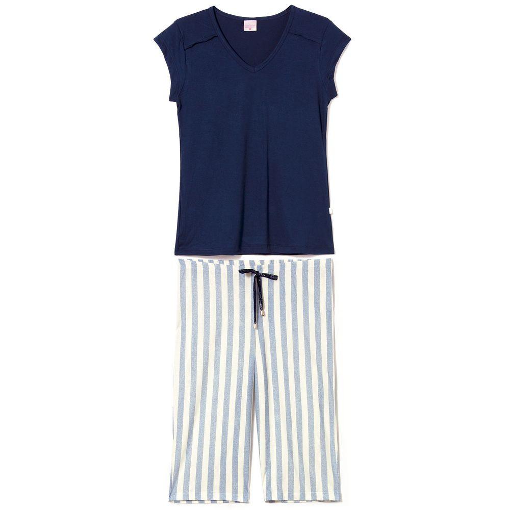 Pijama-Capri-Lua-Encantada-100--Algodao-Listras