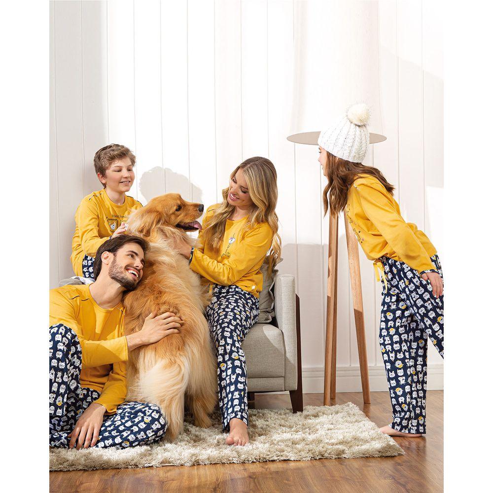 Pijama-Infantil-Feminino-Lua-Encantada-Algodao-Pets