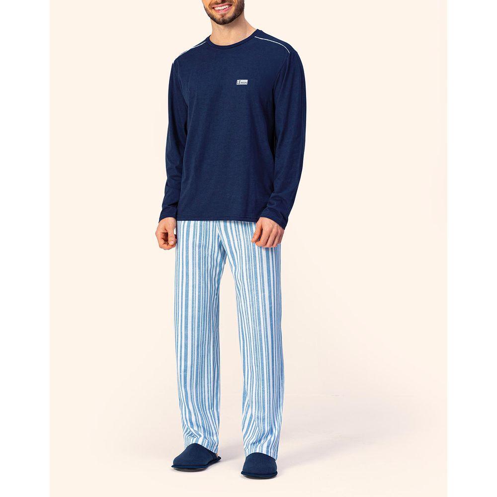 Pijama-Masculino-Lua-Encantada-Algodao-Calca-Listras