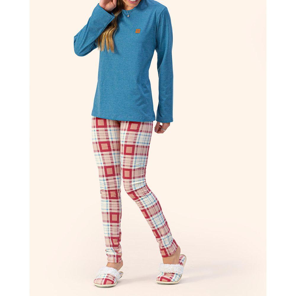 Pijama-Legging-Lua-Encantada-Malha-Mescla-Xadrez