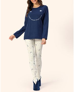 Pijama-Legging-Lua-Encantada-Cotton-Estrelas