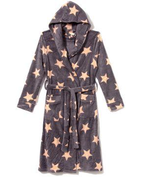 Robe-Feminino-Lua-Lua-Soft-Fleece-Capuz-Estrelas