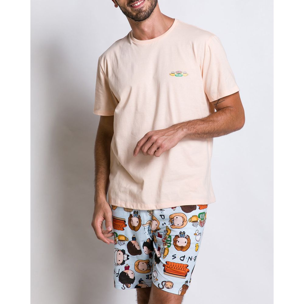 Pijama-Masculino-Acuo-Algodao-Friends