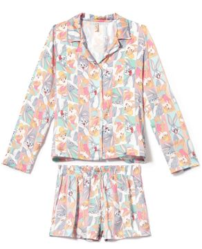Pijama-Americano-Acuo-Cetim-Short-Pernalonga