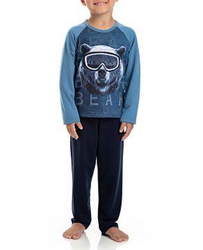 Pijama-Infantil-Masculino-Toque-Molecotton-Urso