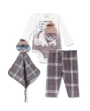 Pijama-Baby-Unissex-Toque-Poliplex-Gato