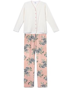 Pijama-Plus-Size-Feminino-Aberto-Toque-Flanelado