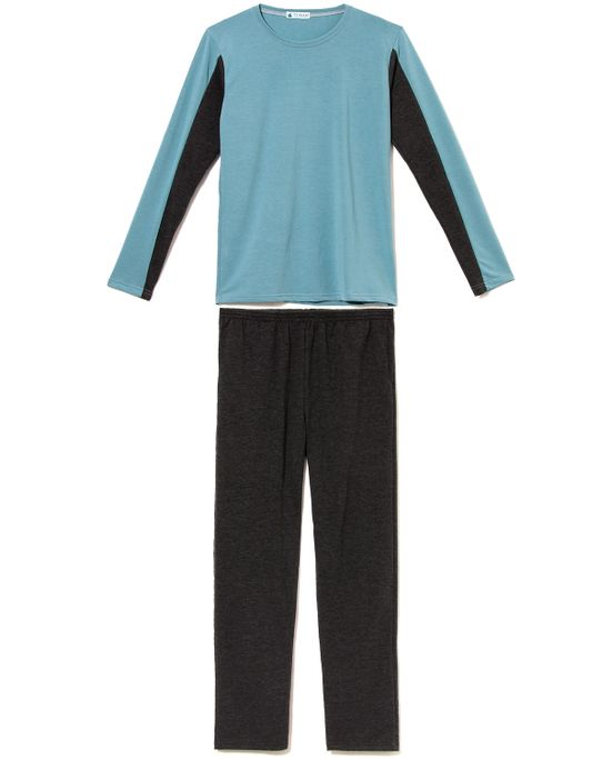 Pijama-Masculino-Toque-Molecotton-Recorte-Manga