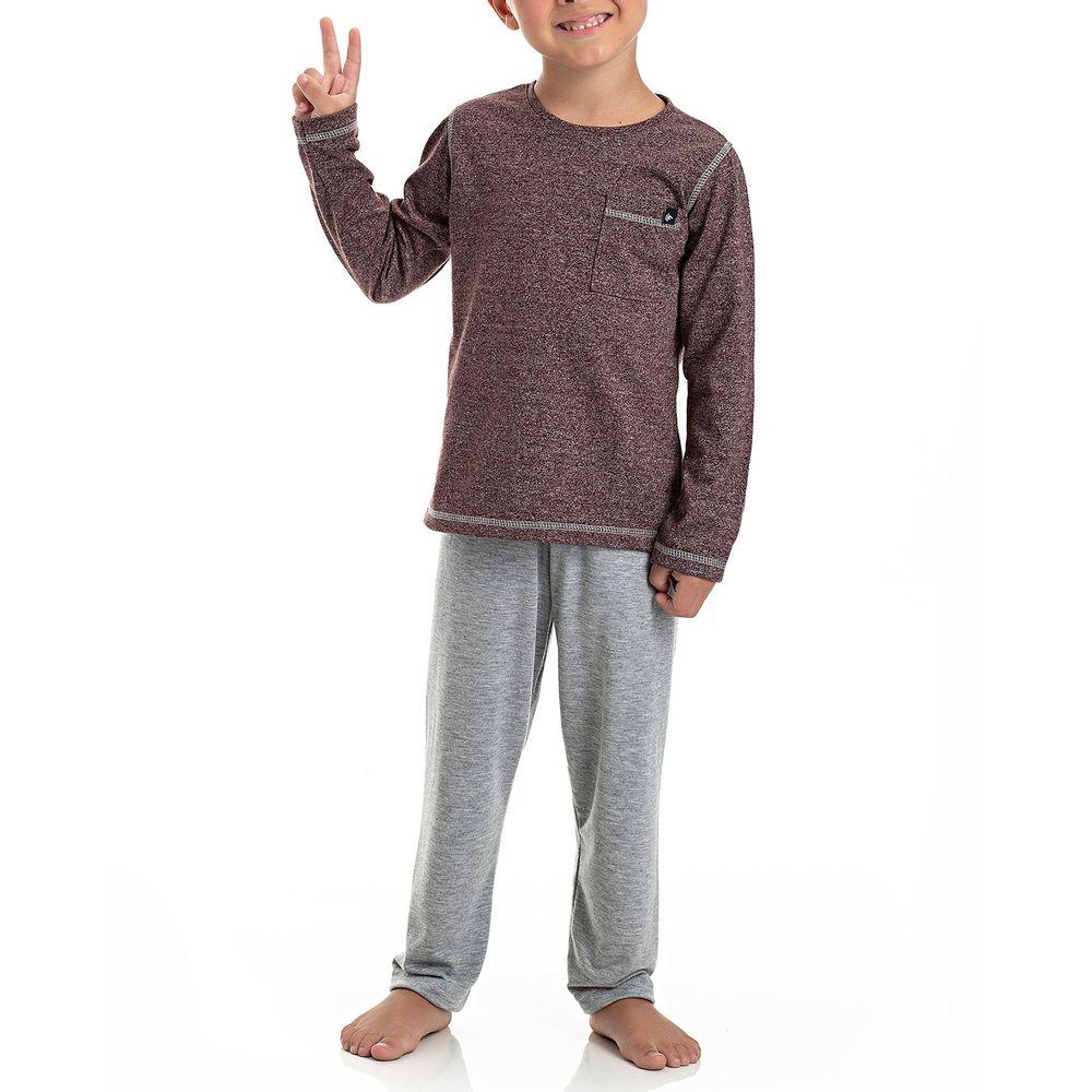 Pijama-Infantil-Masculino-Toque-Malha-Moline-Mescla