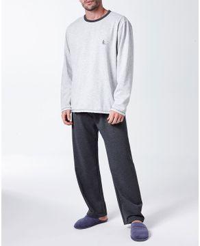 Pijama-Masculino-Lua-Cheia-Moletinho-Flanelado-Mescla