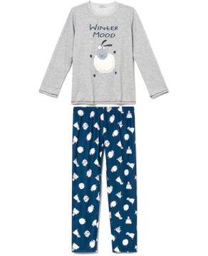 Pijama-Feminino-Lua-Cheia-Flanelado-Carneiro-Peluciado