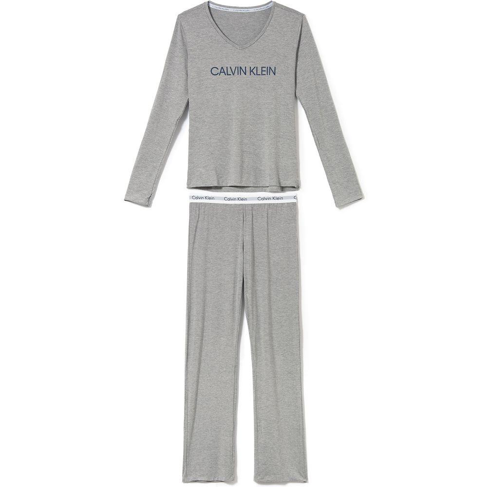 Pijama-Longo-Feminino-Calvin-Klein-Viscolycra-Logo
