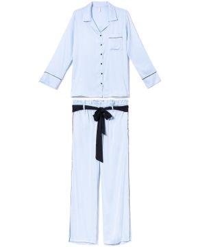 Pijama-Americano-Longo-Joge-Cetim-Vegano-Bolsos